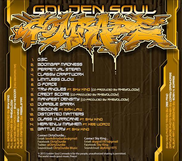 Golden soul comrade back
